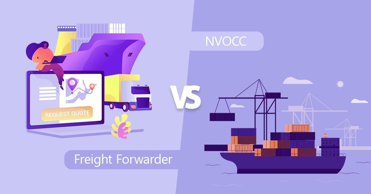 Freight forwarder vs nvocc